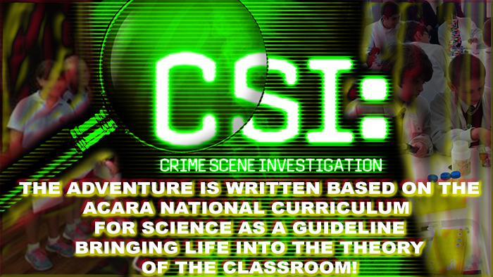 Forensic Science Incursion written with the National Curriculum of Science