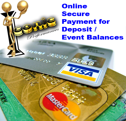 Safe and Secure Online Payment for Event Deposits / Event Balances / Additional Tickets and Other Ev
