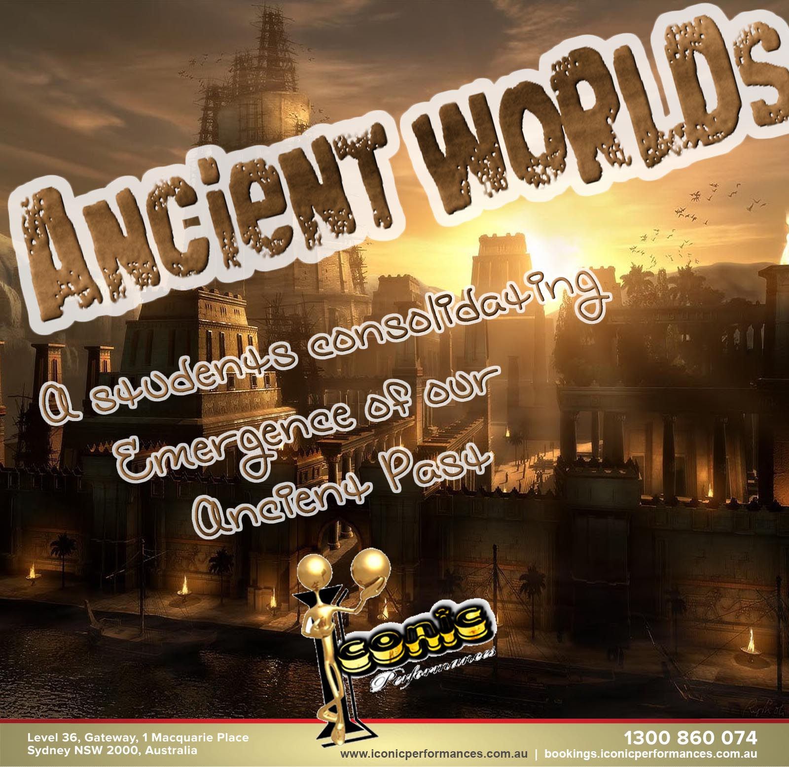 Valley of the Ancient Worlds - A students consolidating Emergence of a History far gone