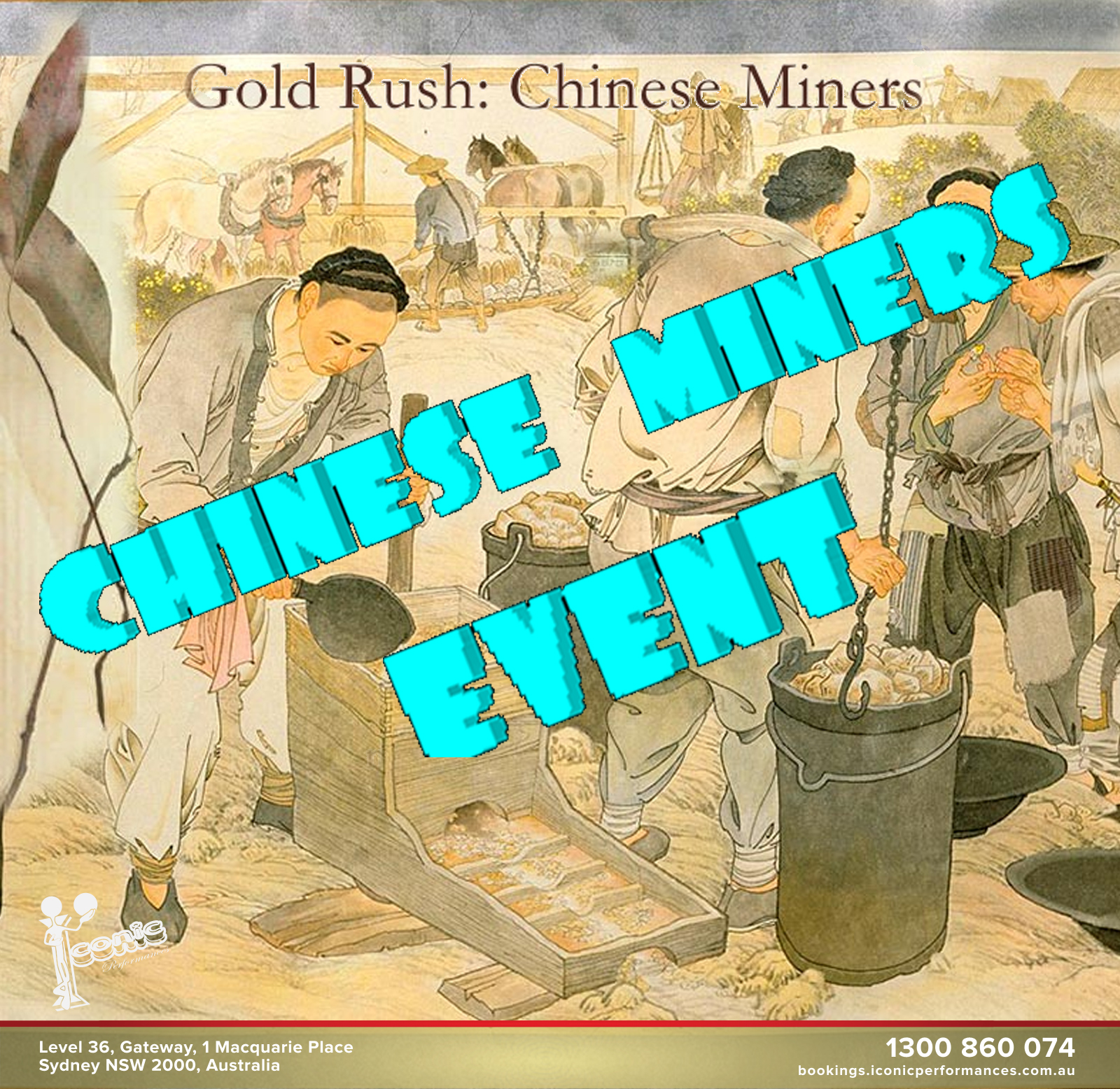 Hilarious Chinese Miners Event