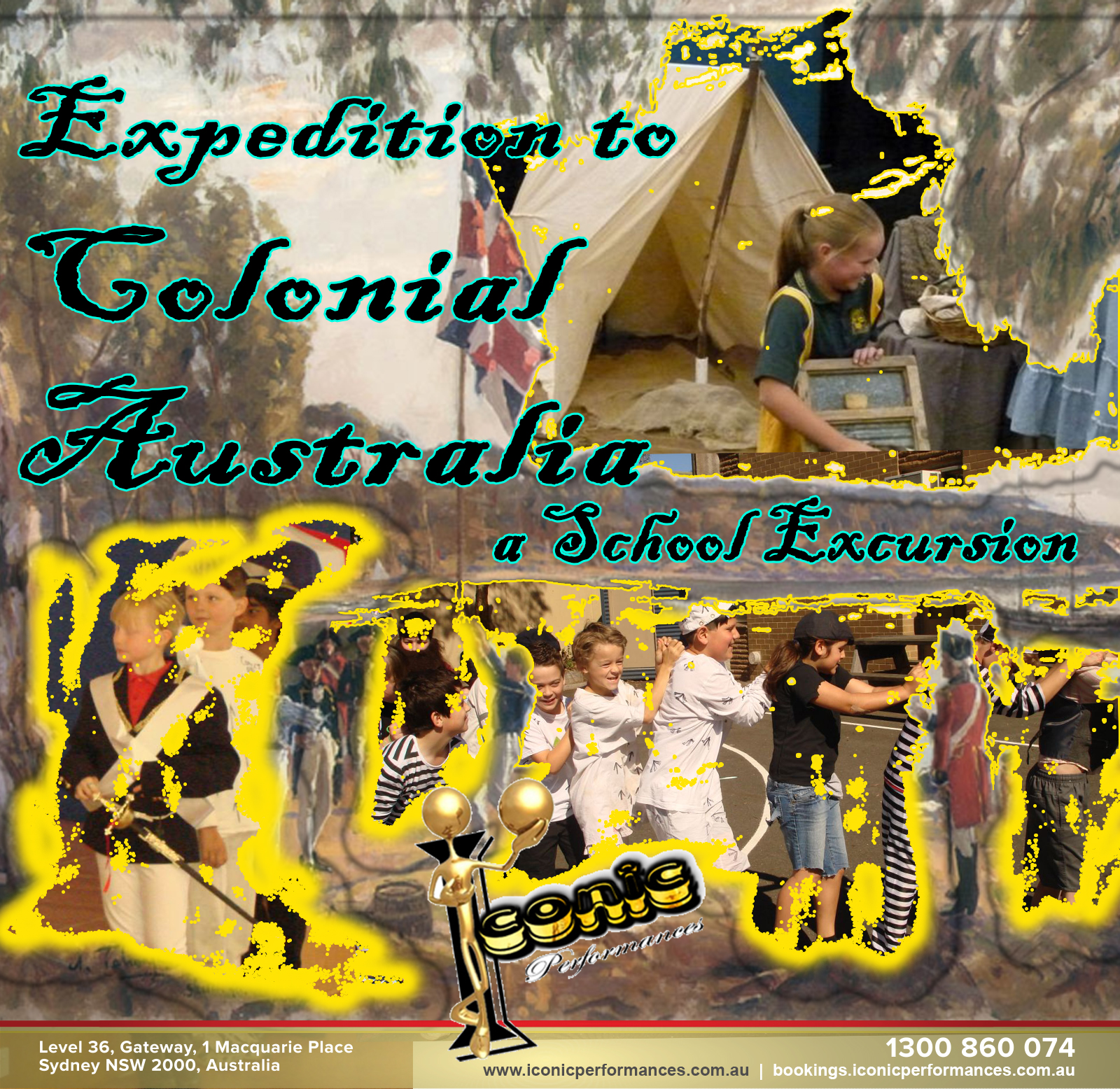 School Excursion, Expedition to Colonial Australia