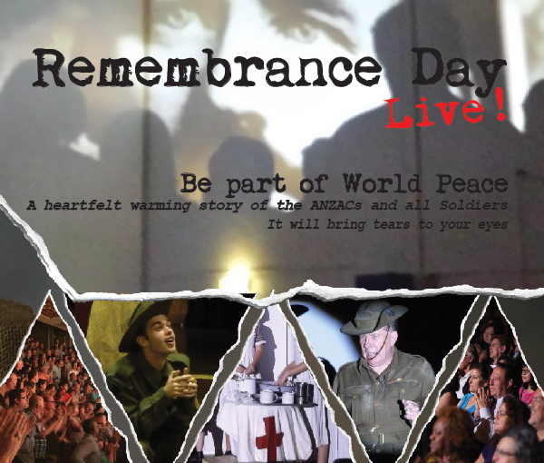 Remembrance Day Live Theatre Show