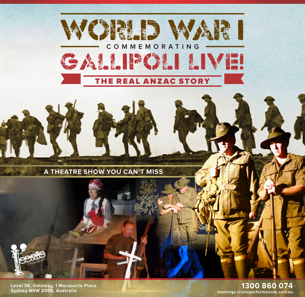 World War I - Commemorating Gallipoli Live - The REAL ANZAC Story