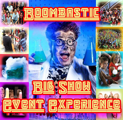 Boombastic Big Show Event Experience, for Corporate Events, Family Day Outs, Vacation Care, Holiday